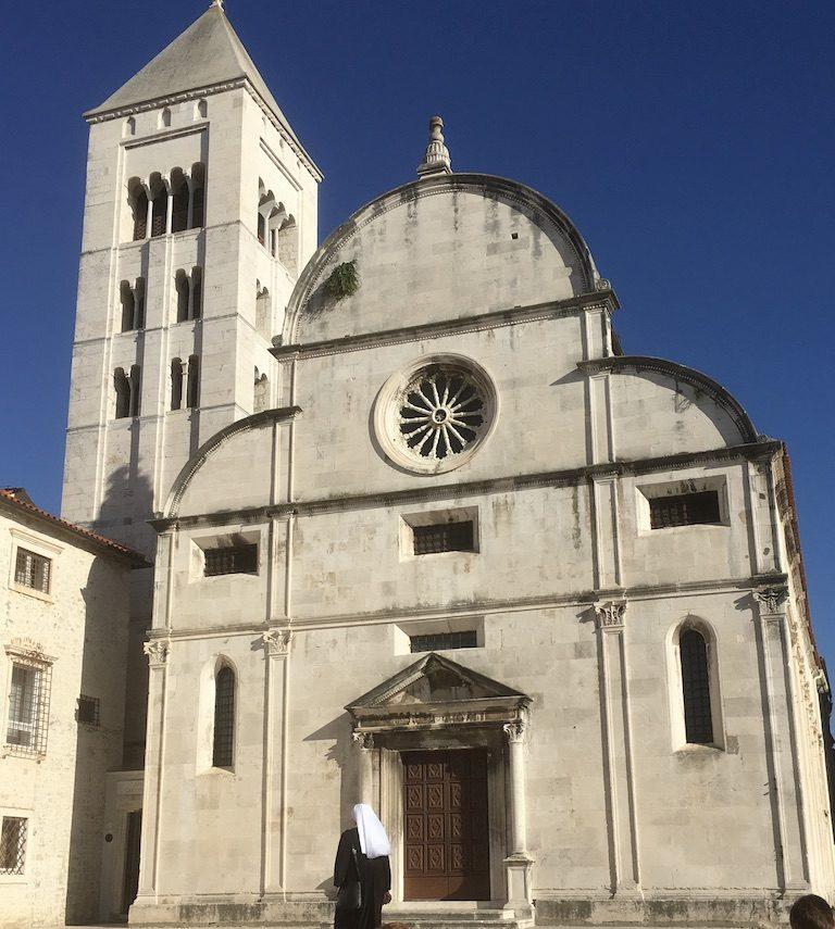 kerk in zadar